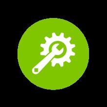 Materialllager - Werkzeuglager - Icon